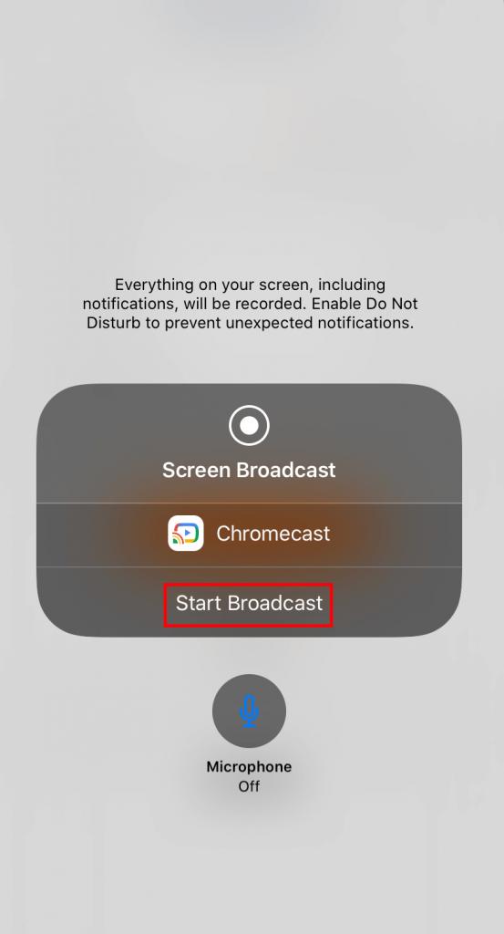 Chromecast Whatsapp Video Calls using iPhone
