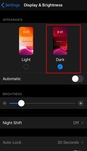 Google News Dark Mode on iOS