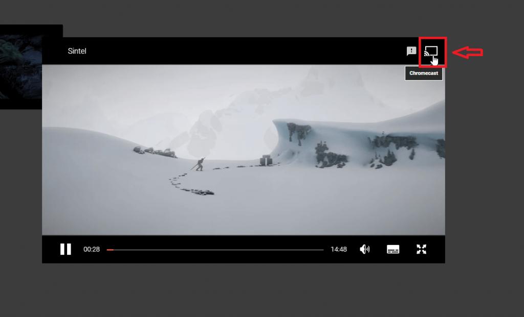 Cast Google Play Movies & TV app