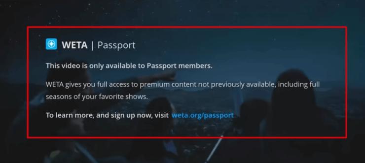 PBS Passport