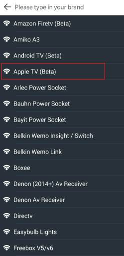 Control Apple TV with Android