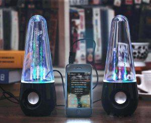 Hype Wireless Bluetooth Water Dancing Speakers