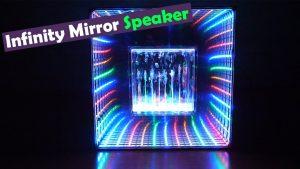 Infinity Mirror Water Dancing Speaker
