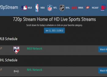 720pstreams - Best Sports Stream Sites