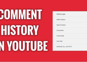 How to View Your Entire YouTube Comment History