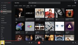 GPMDP (Google Music Play Desktop Client)