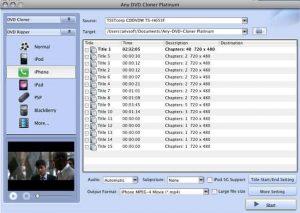 Any DVD Cloner for Mac