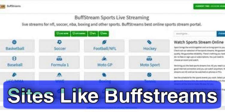 Best BuffStreams.tv Alternatives