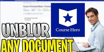 How To Unblur Course Hero Documents for Free