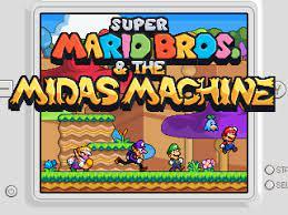 Super Mario Bros. & The Midas Machine